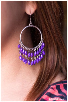 Cascade of Color - Paparazzi earrings