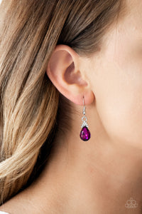 5th Avenue Fireworks - pink - Paparazzi earrings