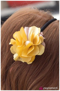 Give Them Something To Talk About - Yellow - Paparazzi Jewelry headband