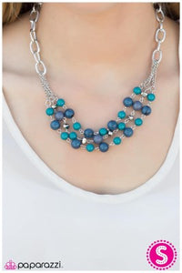 Blue Infinity - Paparazzi necklace