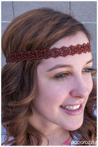 Rosey Girl - Paparazzi hippie headband
