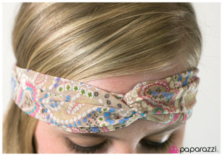 Paisleys and Cream - Paparazzi Accessories Hippie Headband