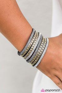 A Big Deal - Silver - Paparazzi bracelet