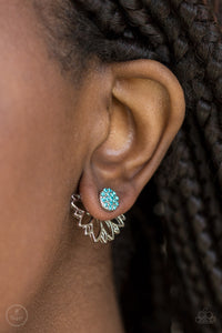 A Fan Fave - blue - Paparazzi earrings