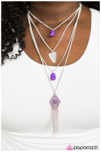 A Gypsy Soul - Purple - Paparazzi necklace