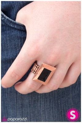 A Picture is Worth a Thousand Words - copper - Paparazzi ring