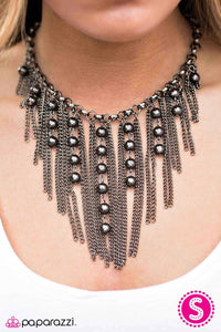 A Risk I Am Willing to Take - black - Paparazzi necklace