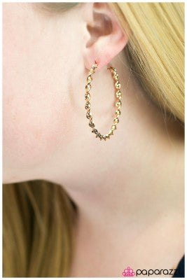 A Whirl and A Twirl - Paparazzi hoop earrings