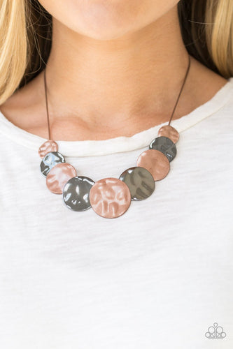 A Daring Discovery - multi - Paparazzi necklace
