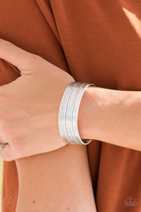 Absolute Amazon - silver - Paparazzi bracelet