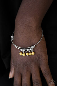 All Roads Lead to ROAM - yellow - Paparazzi bracelet