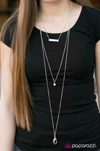 All Smiles - Paparazzi lanyard necklace