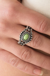 All Summer Long - green - Paparazzi ring