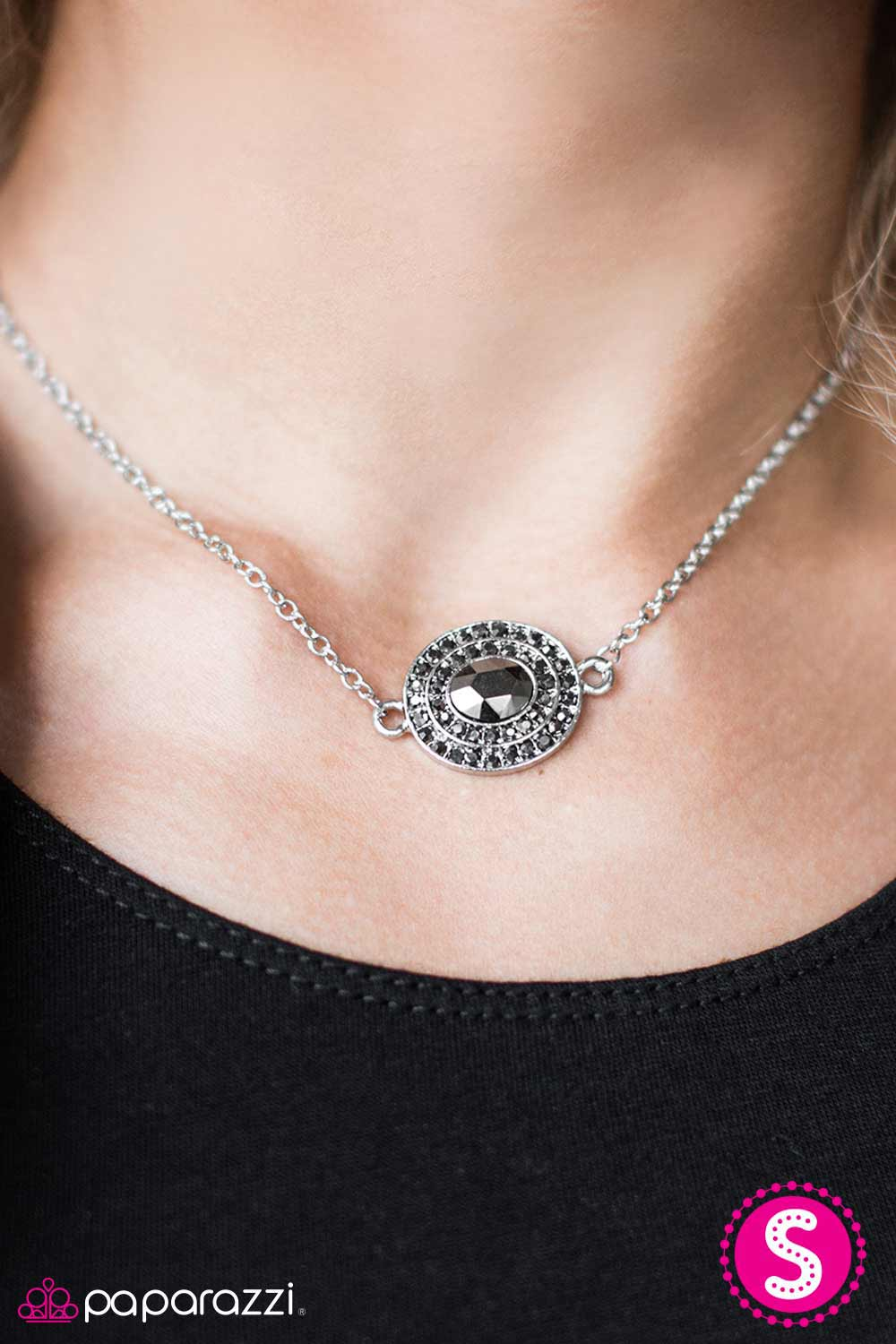 All The Grandeur In The World - Silver - Paparazzi necklace
