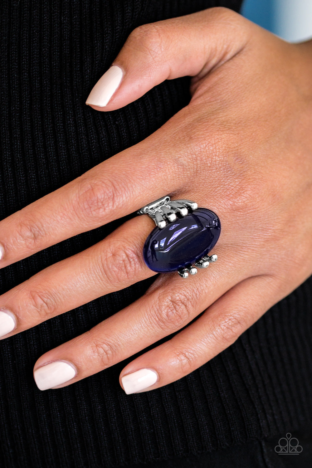 All Will Be Shine - blue - Paparazzi ring