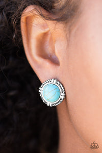 Alp Tour - blue - Paparazzi earrings