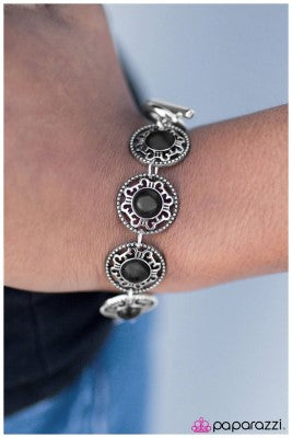 Always In Fashion - Black - Paparazzi bracelet