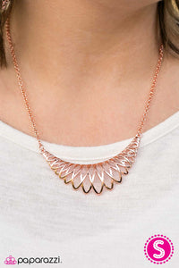 Amazon Allure - Paparazzi necklace
