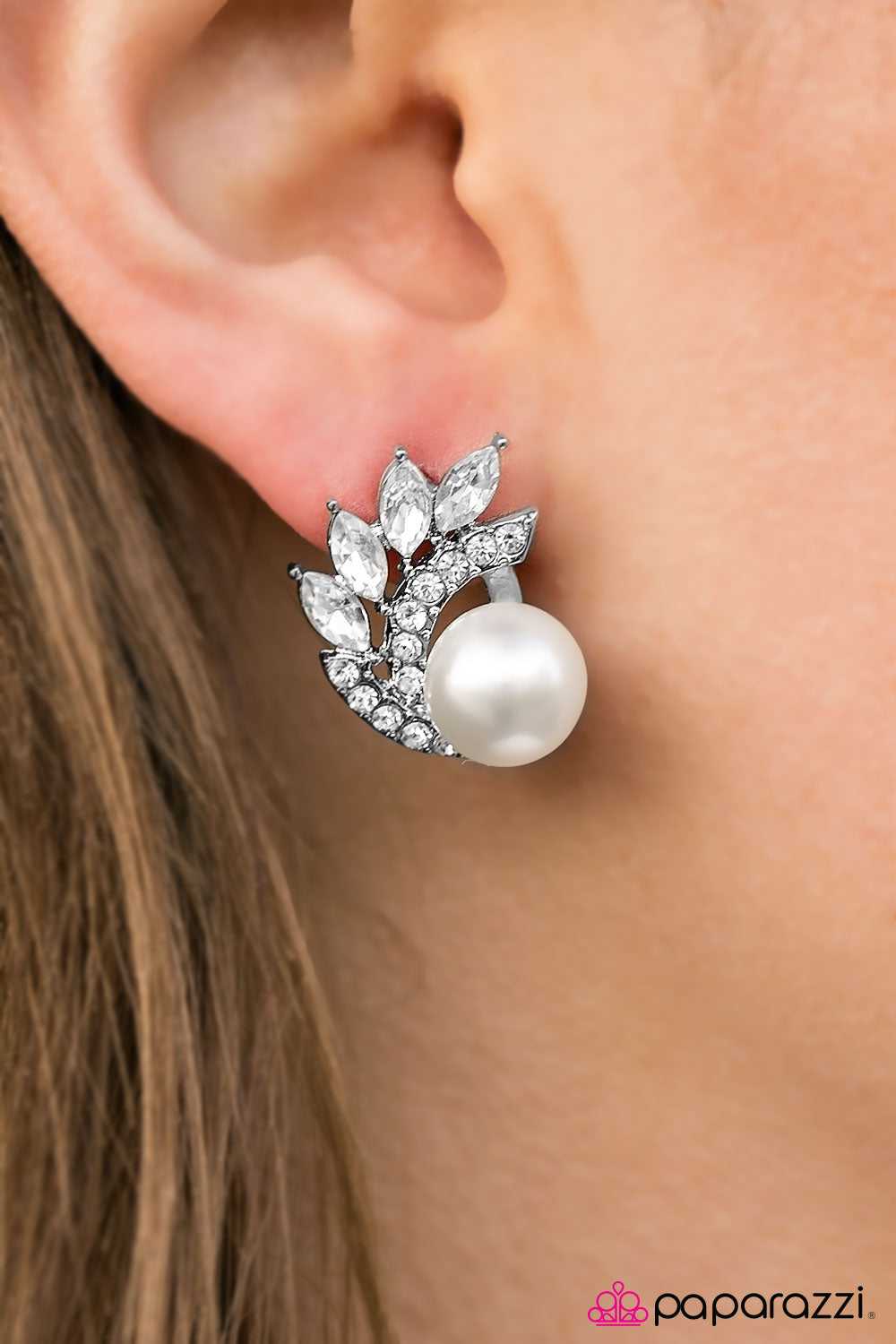 Arctic Blast - Paparazzi earrings