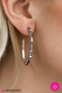 Arctic Chill - Paparazzi earrings