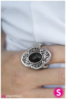 As Fate Would Have It - black- Paparazzi ring