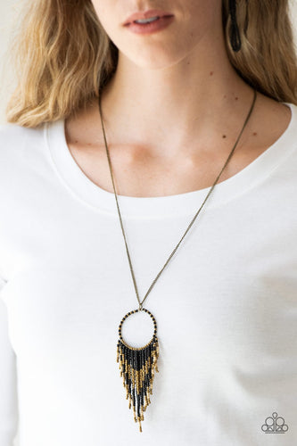 Badlands Beauty - black - Paparazzi necklace