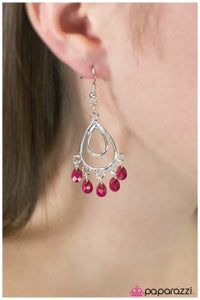 Bahama Mama - Pink - Paparazzi earrings