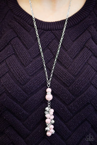 Ballroom for Rent - pink - Paparazzi necklace