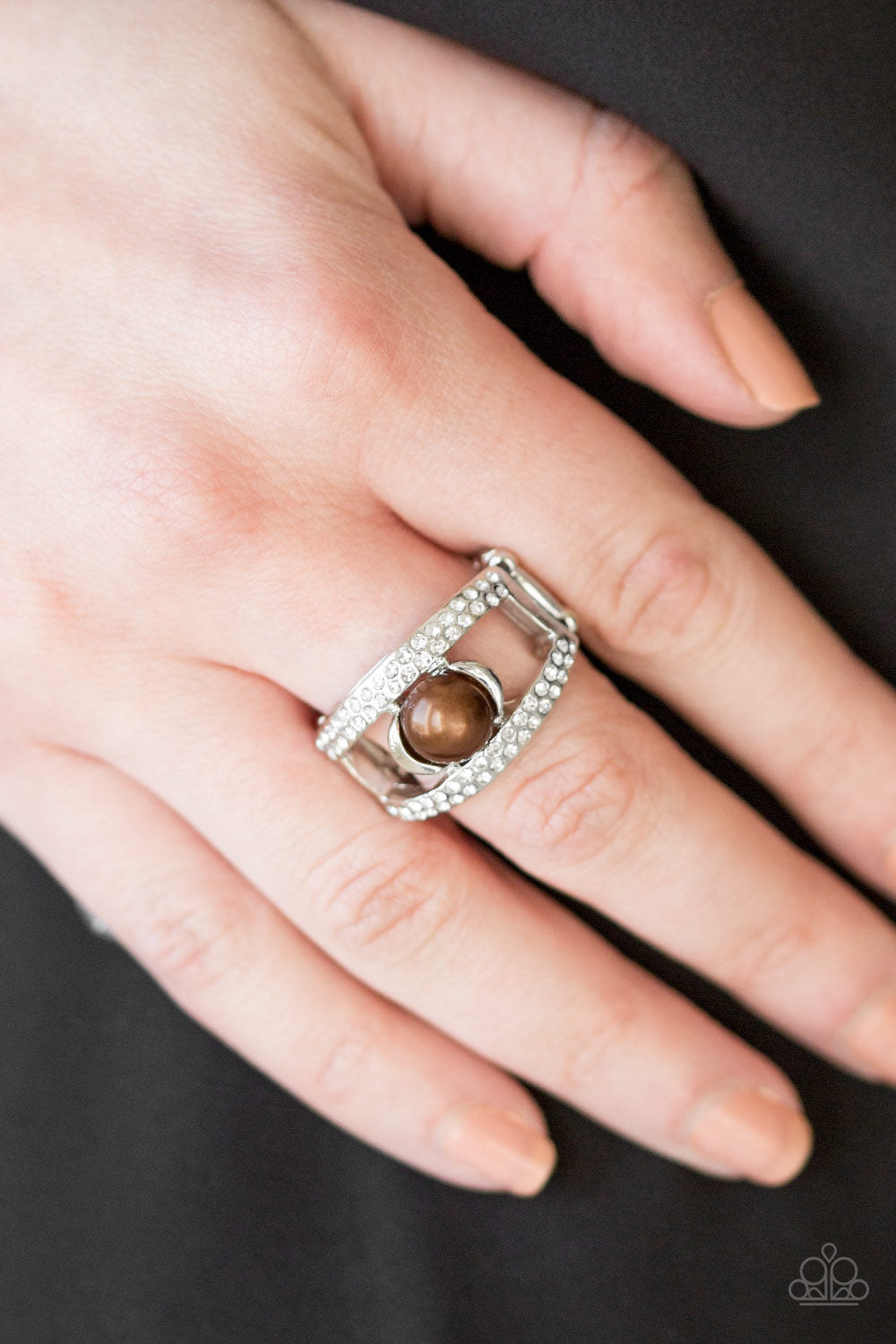 Bank Run - brown - Paparazzi ring