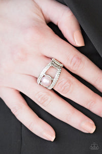 Bank Run - pink - Paparazzi ring