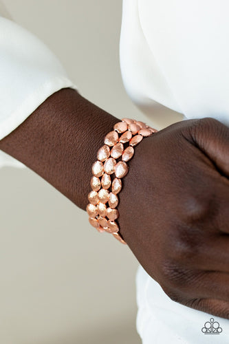 Basic Bliss-copper-Paparazzi bracelet