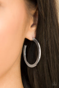 Be All Bright - silver - Paparazzi earrings