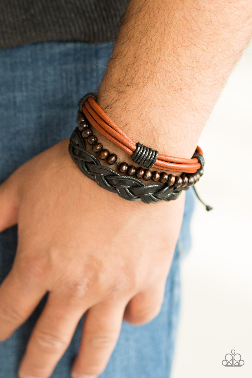 Beachside Resort - brown - Paparazzi bracelet