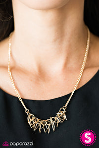Beast Mode - Gold - Paparazzi necklace