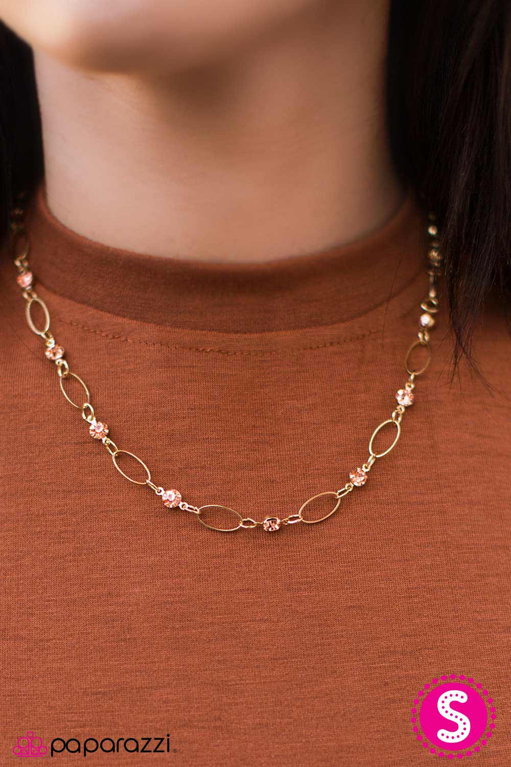 Best Of The Classics - Gold - Paparazzi necklace