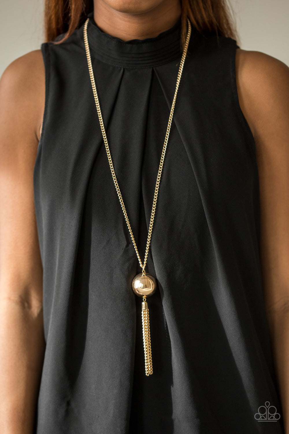 Big Baller - gold - Paparazzi necklace
