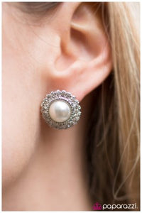 Bride to Be - Paparazzi Earrings