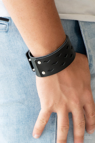 Bucking Bronco - black - Paparazzi bracelet