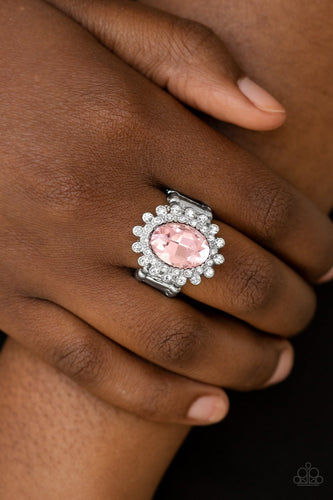 Castle Chic - pink - Paparazzi ring