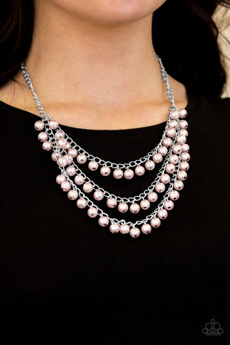Chicly Classic - pink - Paparazzi necklace