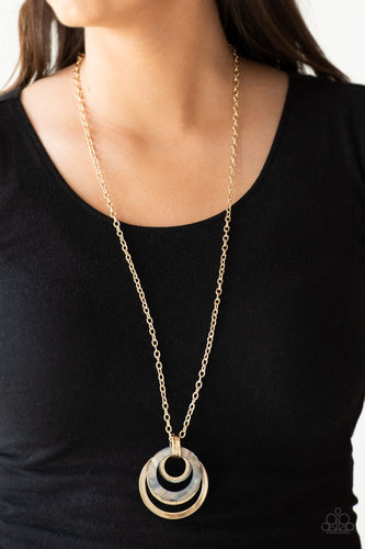 Coast Coasting-gold-Paparazzi necklace