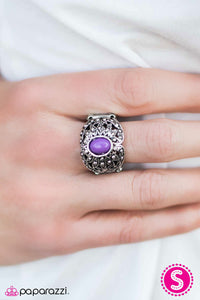 Color Burst - Purple - Paparazzi ring