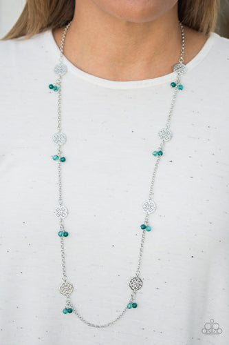 Color Boost - green - Paparazzi necklace