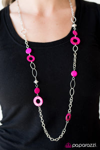Colorfully Caribbean - Pink - Paparazzi necklace