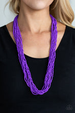 Load image into Gallery viewer, Congo Colada-purple-Paparazzi necklace