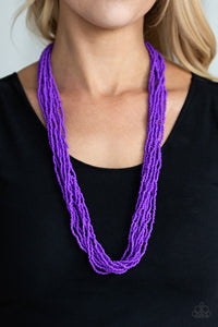 Congo Colada-purple-Paparazzi necklace