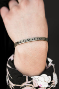 The Best Is Yet To Be - Paparazzi bracelet