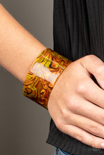 Load image into Gallery viewer, Cosmic Couture - orange - Paparazzi bracelet