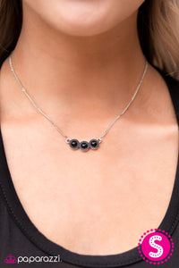 Country Classic - Black - Paparazzi necklace