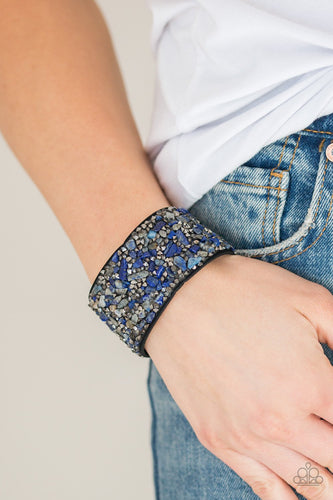 Crush Rush - blue - Paparazzi bracelet